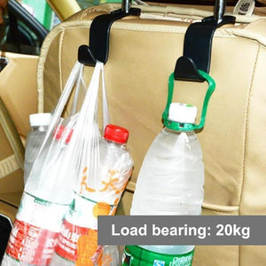 Car Shopping Bag Hanger Clips