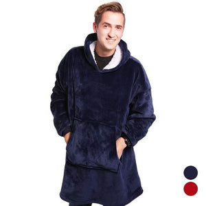 Sherpa Blanket With Sleeves
