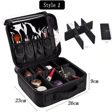 Makeup Cosmetic Bag w/ Portable Case For Travel & Home