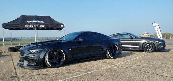 Alex Widebody projet équipé équipé Steeda Supercharged Mustang