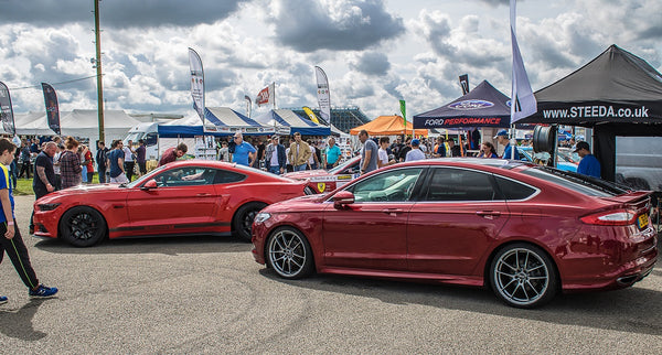 Steeda Mondeo Sport at Ford Fair