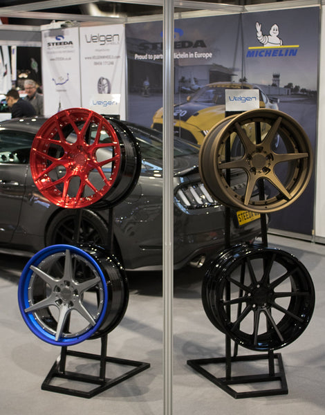 Velgen Forged Wheel range launched at the Autosport Show in 2018