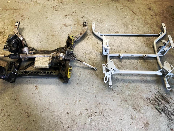 OEM vs Steeda K member for S550 Mustang