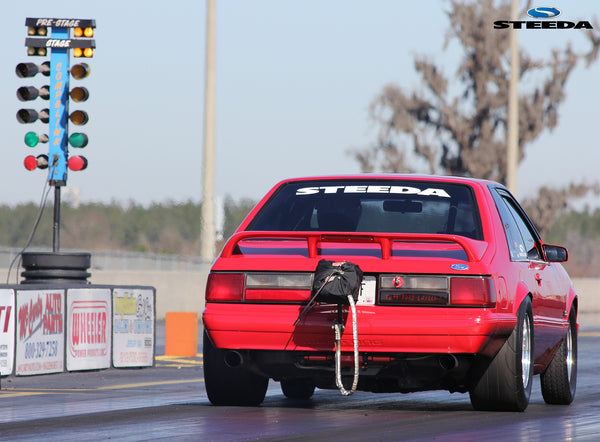 Steeda Scott Boda and Drag Fox body Mustang