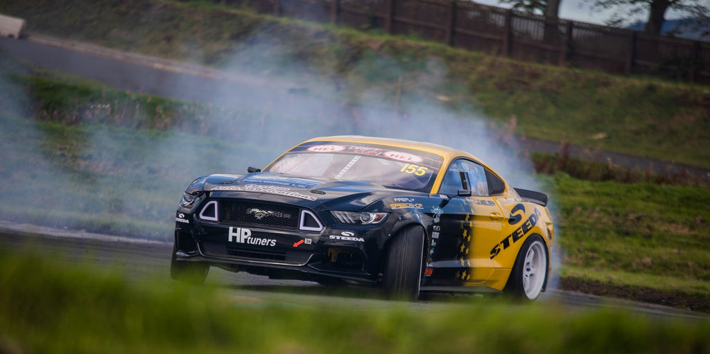 Custom Auto Fabrications Drift car at Driftland for the Drift Cup 2019