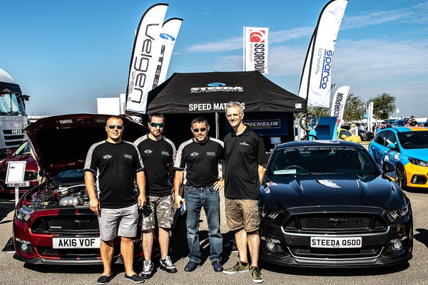 Hendy Performance team on the Steeda UK Stand at Ford Fair 2018