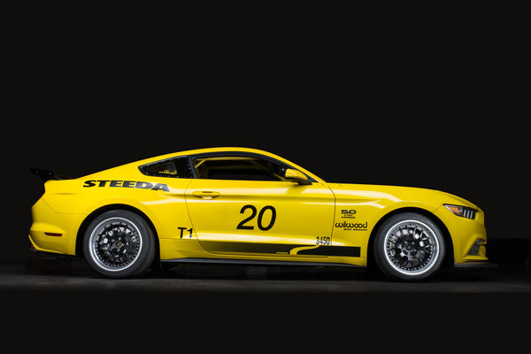 Steeda Q500R side shot - The S550 Mustang GT Race car