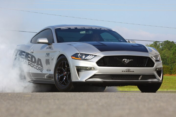 Steeda Silver Bullet Drag World Record NA Stock Block Mustang GT