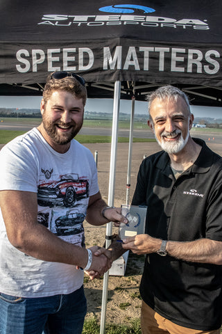 Steve Wins Speed Matters award at Steeda Driving Experience 6