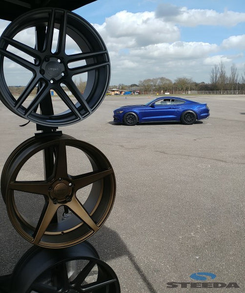Velgen wheels on display