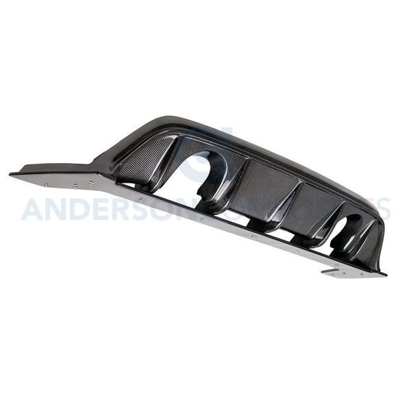 Anderson Composites 2016-18 Ford Focus RS Carbon Fiber Rear Diffuser