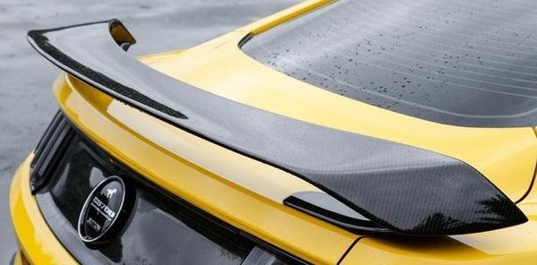 Anderson Composites - 2015 - 2020 Mustang Carbon Fiber GT350R Style Rear Spoiler