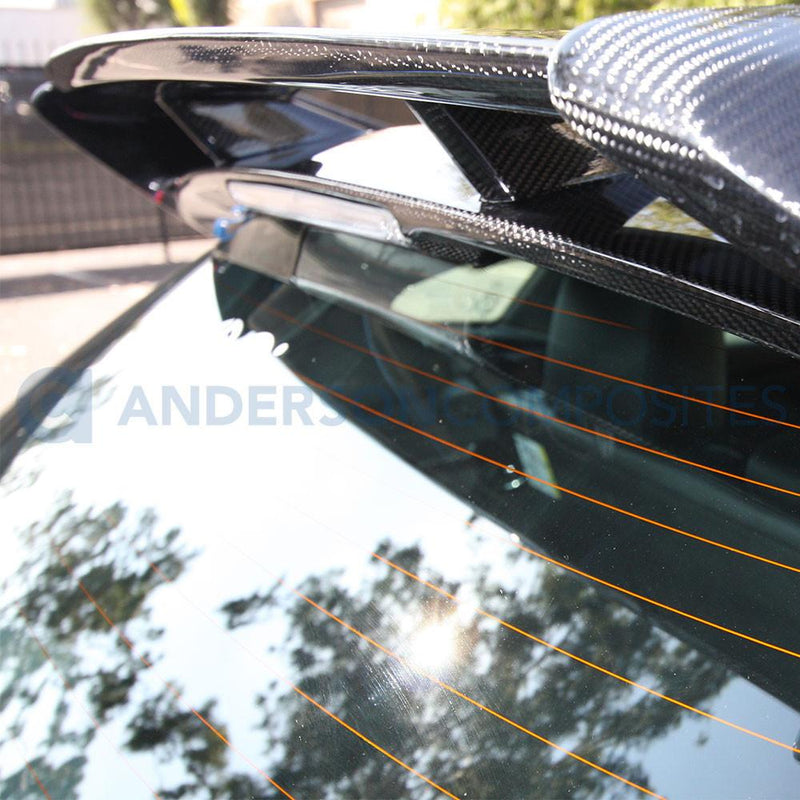 Anderson Composites 2015-18 Ford Focus RS Style Carbon Fibre Rear Spoiler