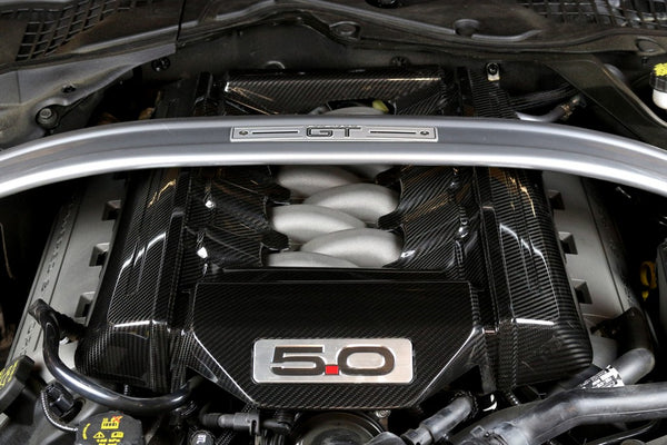 APR Tampa do motor de carbono Performance S550 Mustang