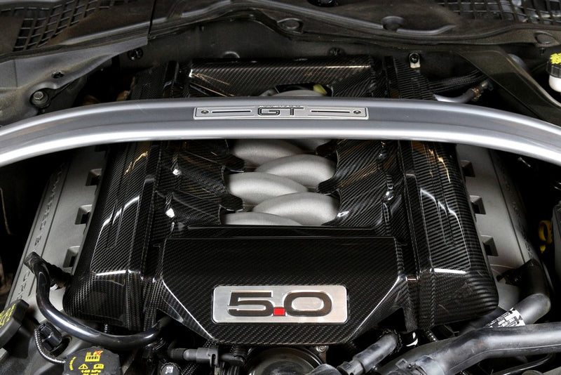 Cache moteur APX Performance S550 Mustang Carbon