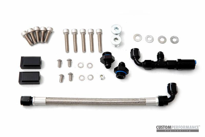 cp- FuelBAR EcoBoost Aux Fuel Rail - Port Fuel Rail Focus ST, Focus RS, Mustang EcoBoost, Ford Mondeo