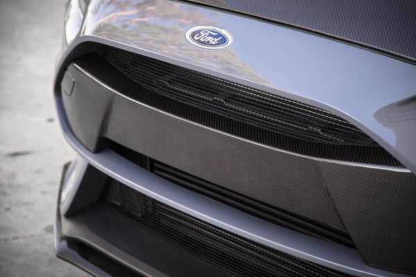 Anderson Composites 2016-18 Ford Focus RS Carbon Fiber Front Bumper Insert