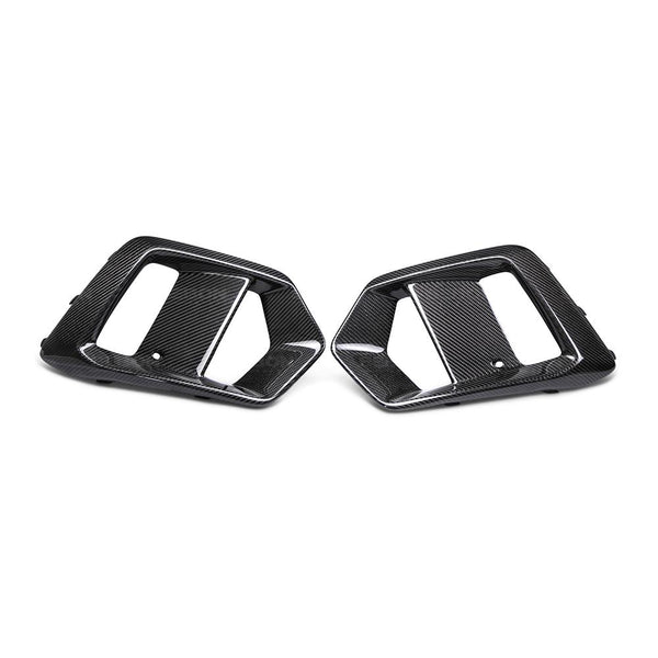 Anderson Composites 2016-18 Ford Focus RS Carbon Fiber Fog Light Surrounds