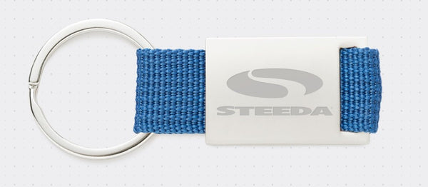 "Steeda ""Speed Matters"" Key Ring"