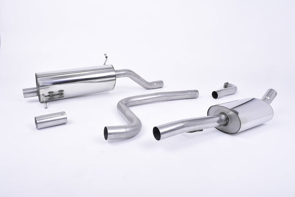 Milltek Catback Exhaust for MK8 Fiesta 1.0 with Polished Tips