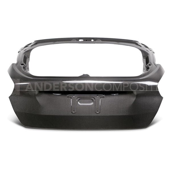 Anderson Composites 2015-18 Ford Focus Carbon Fibre Rear Hatch