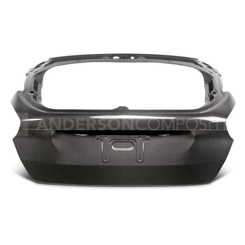 Anderson Composites 2015-18 Ford Focus Carbon Hatch Rear Hatch