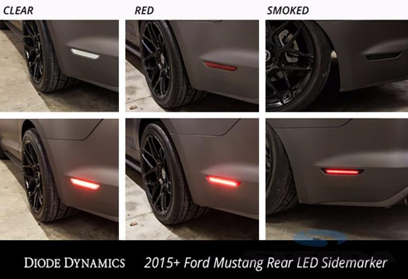 Diode Dynamics S550 Mustang Rear LED Side Markers