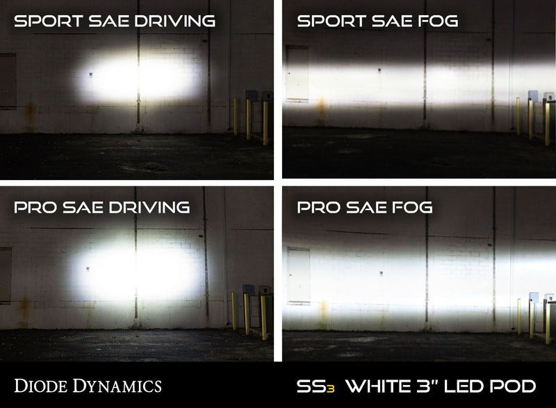 Diode Dynamics S3 Fog Light LED Upgrades for S550 Mustang