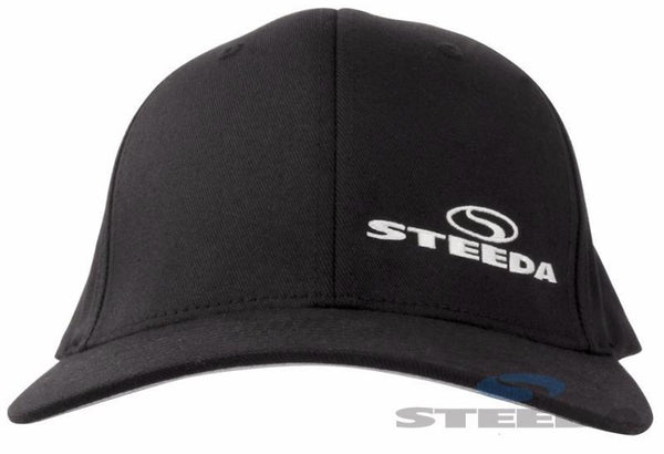 Steeda Black Baseball Cap