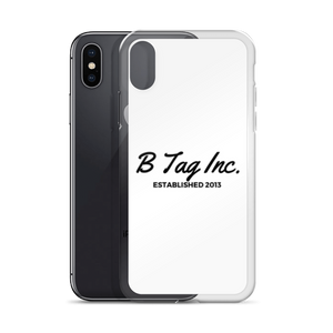 B Tag Inc iPhone Case