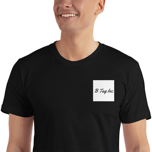 B Tag Inc Black T-Shirt