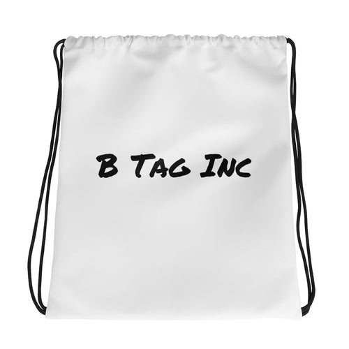 B Tag Inc Drawstring bag