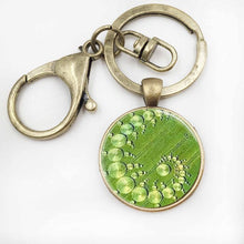 Load image into Gallery viewer, Crop Circle Necklace / Glass Photo Pendant