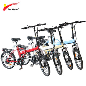 20 inch Electric Bicycle / Folding Ebike 36V 250W,  Rear hub Motor Wheel with 36v 10ah Lithium Battery, LED Controller