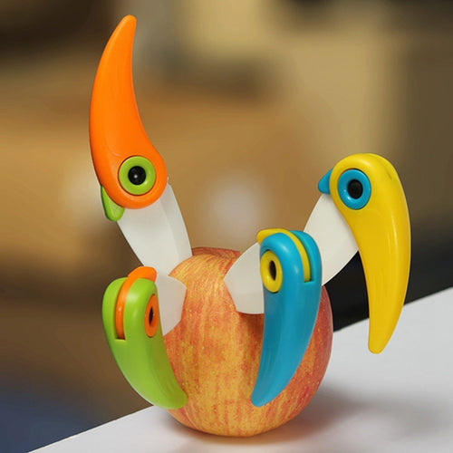 Mini-Bird Ceramic Knife / Folding Pocket Knife / Fruit Paring Knife