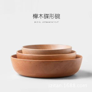 Natural HandMade Beech-wood Salad Bowl, 1 pc