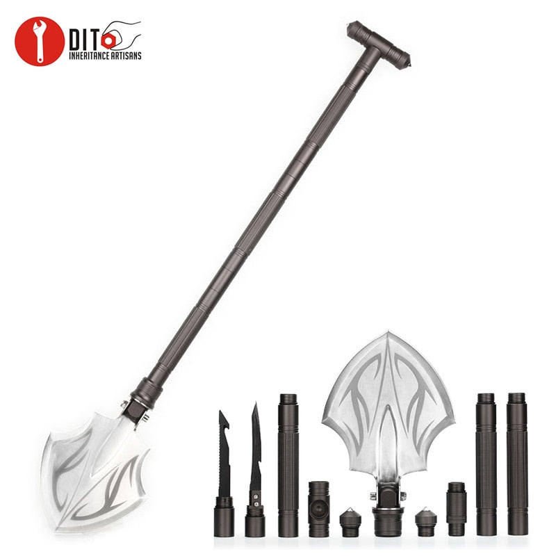 Tactical Shovel / Folding Spade,    hammer/Axe/tools/ survival Equipment