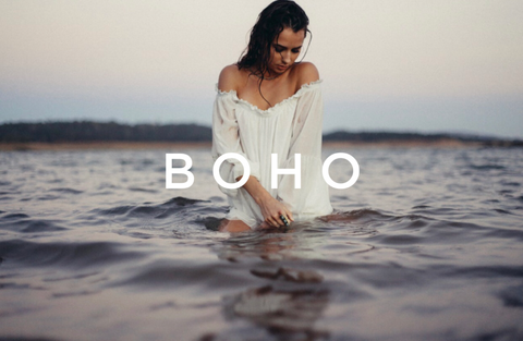 Boho women's clothing