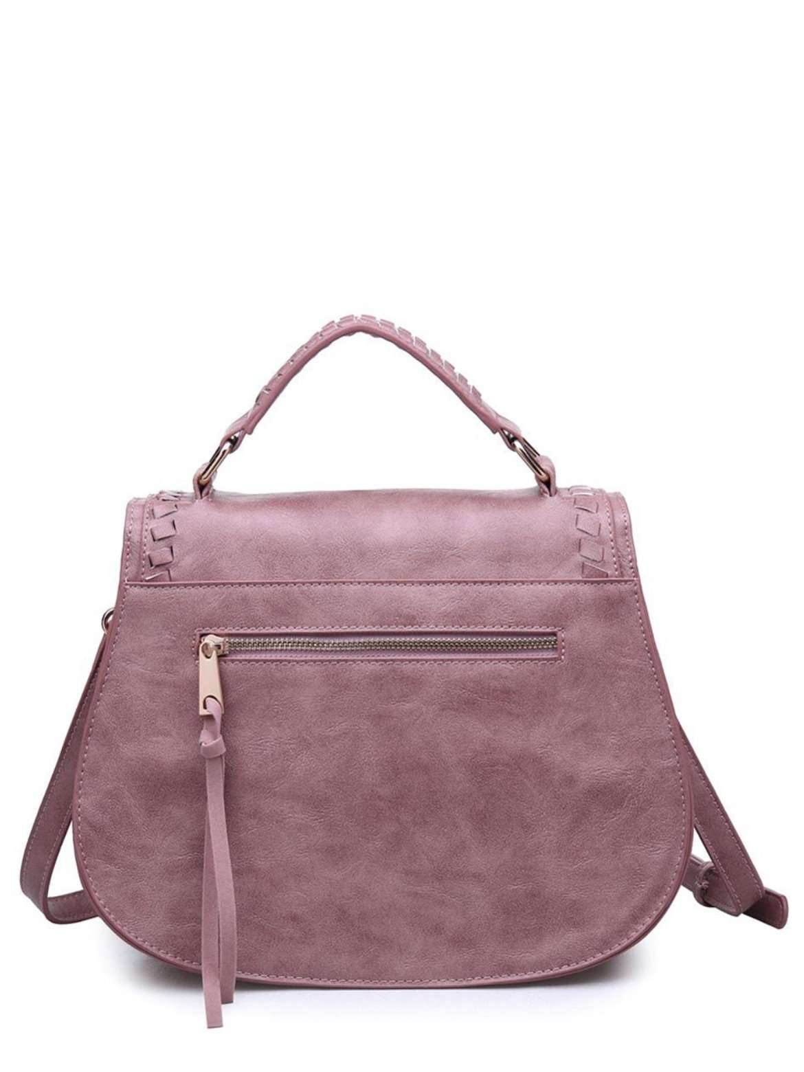Saddle Stitch Bag - Pinks