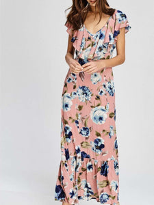 Maddy Floral Ruffle Dress