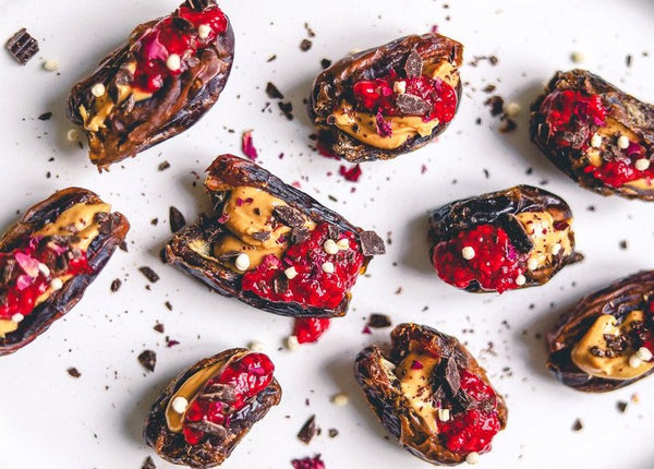 BRAZIL NUT BUTTER & JAM STUFFED DATES