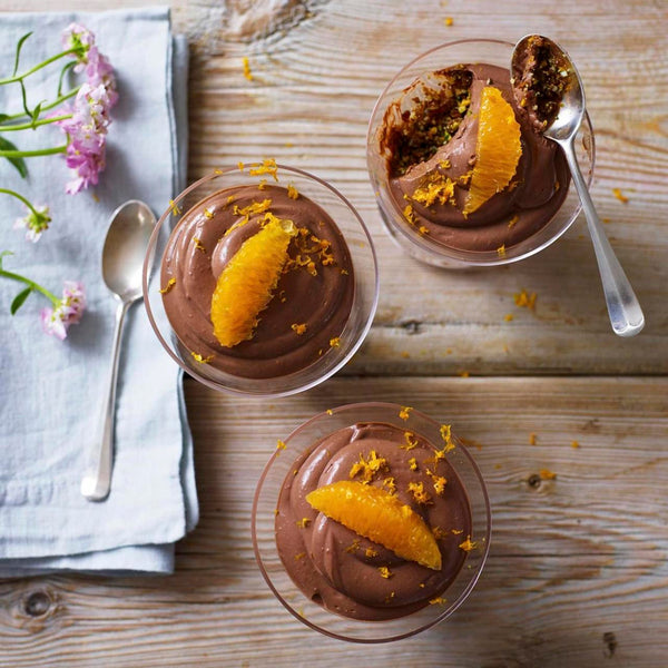 Vegan Chocolate Orange Smoothie