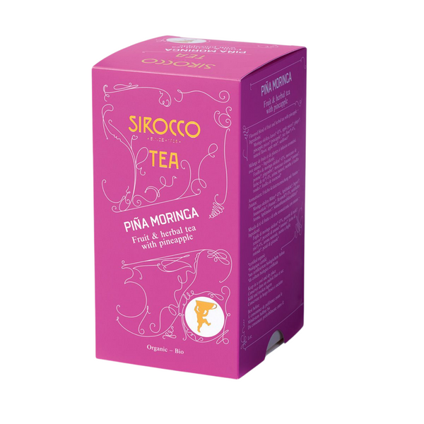 Sirocco Tea PINA MORINGA - FRUIT & HERBAL TEA Sirocco