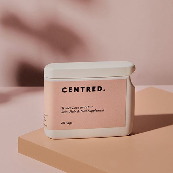 Centred Tender Love and Hair Supplements Centred