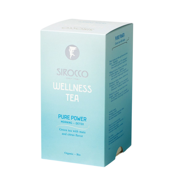 Sirocco Tea WELLNESS TEA - PURE POWER MORNING GREEN TEA Sirocco