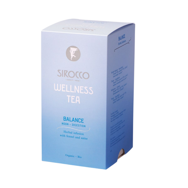 Sirocco Tea Wellness Tea - Balance Noon Herbal Tea Sirocco