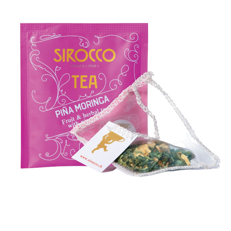 PINA MORINGA - FRUIT & HERBAL TEA