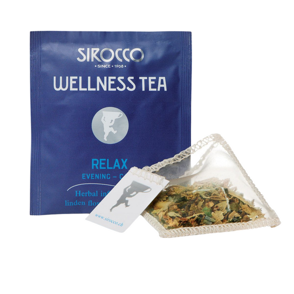 Sirocco Tea WELLNESS TEA - RELAXING EVENING HERBAL TEA Sirocco