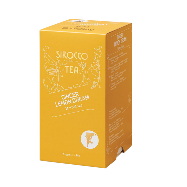 Sirocco Tea GINGER LEMON DREAM - HERBAL TEA Sirocco