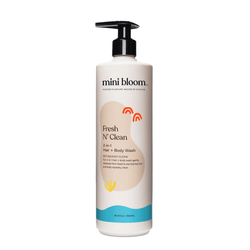 Mini Bloom FRESH N CLEAN 2-n-1 Hair + Body Wash Mini Bloom